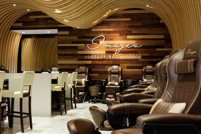 Images Luxury Nail Lounge's Woodbury Town Center, Irvine location. Known as the most luxurious and beautiful nail salon.