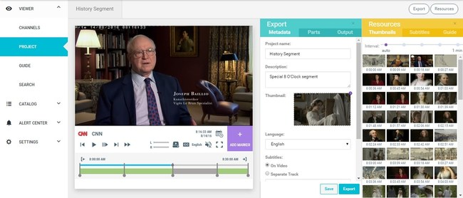 Clips for OTT and social: easy, fast and simple (PRNewsFoto/Actus Digital)