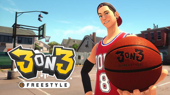 3on3 Freestyle Screen Art