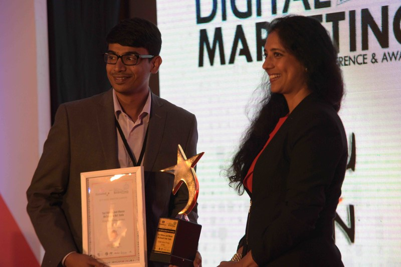 7EDGE Bags 2 Awards at the BBC Knowledge National Digital Marketing Awards (PRNewsFoto/7EDGE Internet Private Limited)