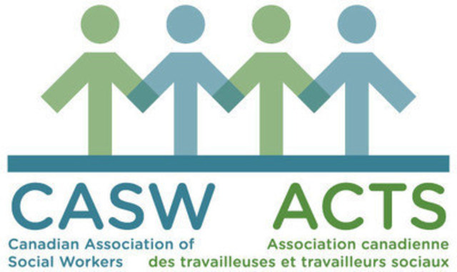 The Canadian Association of Social Workers (CASW) is the national professional association. CASW promotes and strengthens the profession, supports its members, and advances issues of social justice. (CNW Group/Canadian Association of Social Workers)