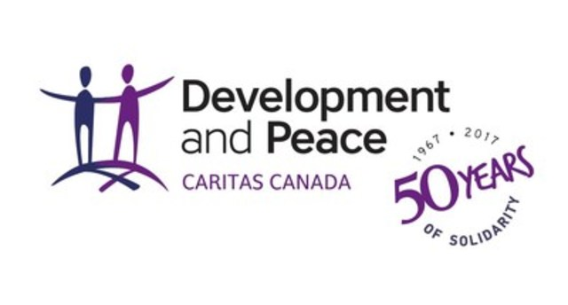 Logo : Development and Peace - Caritas Canada (CNW Group/DEVELOPMENT AND PEACE)