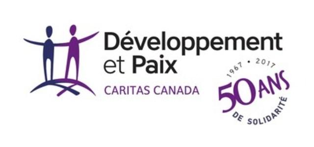 Logo : Développement et Paix - Caritas Canada (Groupe CNW/DEVELOPPEMENT ET PAIX)