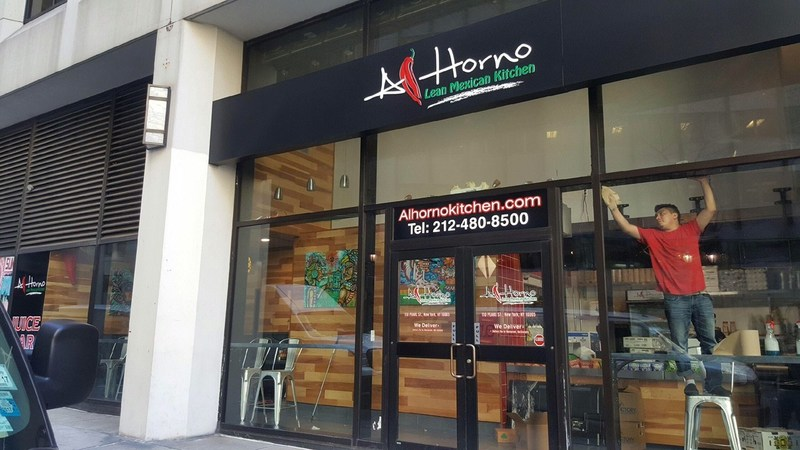 Al Horno Lean Mexican Kitchen just announced the opening of Al Horno's Financial District location, located at 110 Pearl Street. This 5th Al Horno restaurant location offers easy access to those looking for Mexican food on Wall Street. Al Horno also offers NYC catering options throughout the region.
