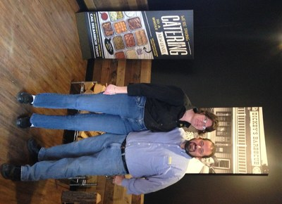 Dickey's Barbecue Pit opens new location in Easton, PA by Owner/Operators Kevin and Kathleen Lynch.