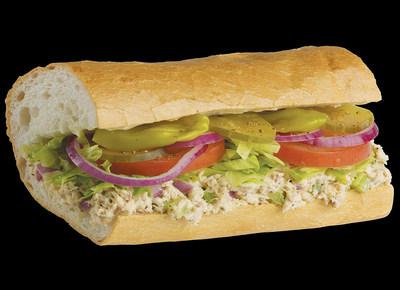 Lemon Pepper Tuna Sandwich
