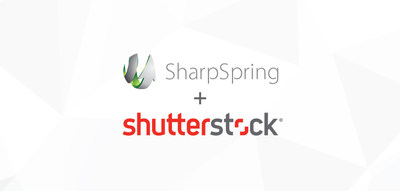 SharpSpring customers can create impactful marketing content using Shutterstock's collection of over 125 million images