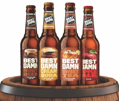 BEST DAMN Brewing Co. expands family of flavorful brews with national launch of BEST DAMN Cream Soda and limited release of BEST DAMN Sweet Tea.