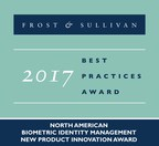 Frost & Sullivan Recognizes ImageWare Systems with 2017 New Product Innovation Award for Its Innovation in the Biometric Identity Management Market