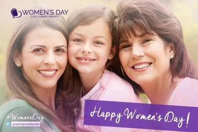 Celebrate and recognize the special women in your life on Women's Day March 8th!