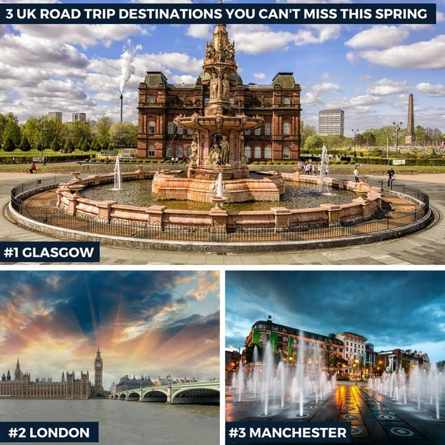 3 UK Road Trip Destinations You Can't Miss This Spring