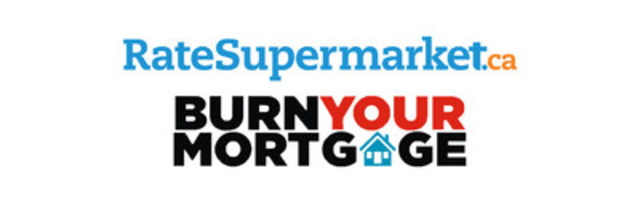 "RateSupermarket.ca Kicks Off Home Buying Season with its ""Burn Your Mortgage"" Project. (CNW Group/RateSupermarket.ca)"