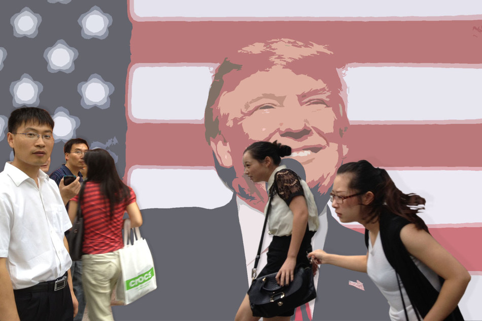 Trump has damaged Chinese consumer sentiment toward the U.S. following his first month as president.