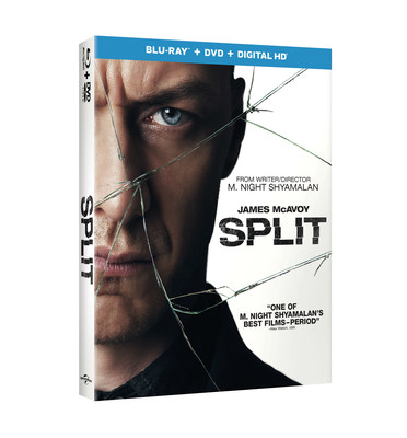 From Universal Pictures Home Entertainment: Split