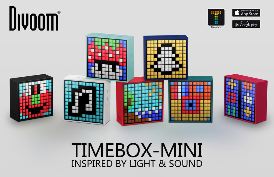 TimeBox Mini (PRNewsFoto/Divoom Lab International Co. LTD)