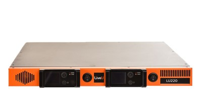 LiveU's LU220 rack-mount encoder