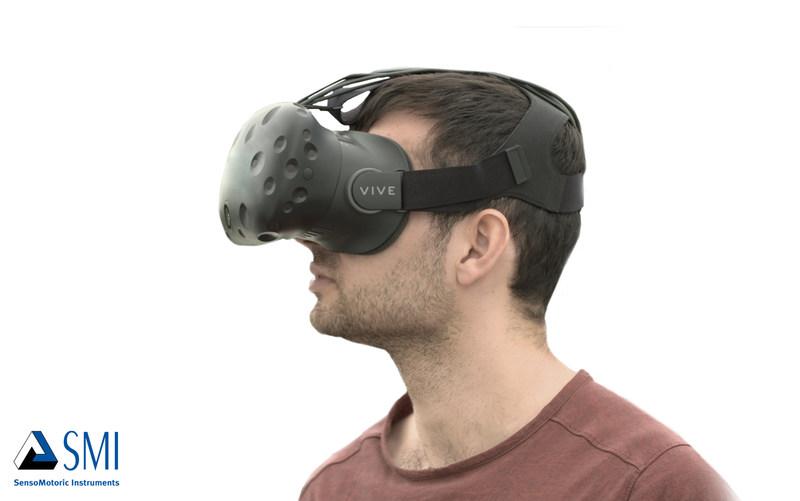 Valve and SMI showcase eye tracking on the OpenVR platform with the HTC Vive (PRNewsFoto/SensoMotoric Instruments GmbH)