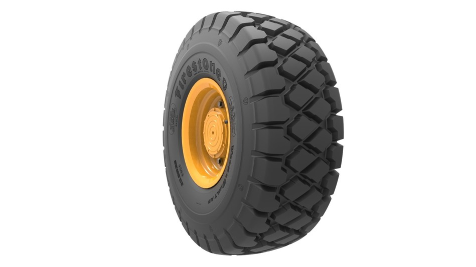 The Firestone VersaBuilt All Purpose radial tire is designed for long-wear life and dependable, all-around performance in loader and earthmover applications.
