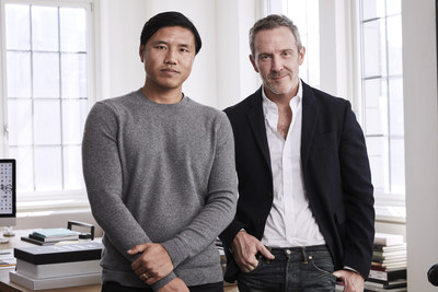 Patrick Yee, the new CEO of agency Laird + Partners, with founder Trey Laird. (Credit: Laird + Partners)