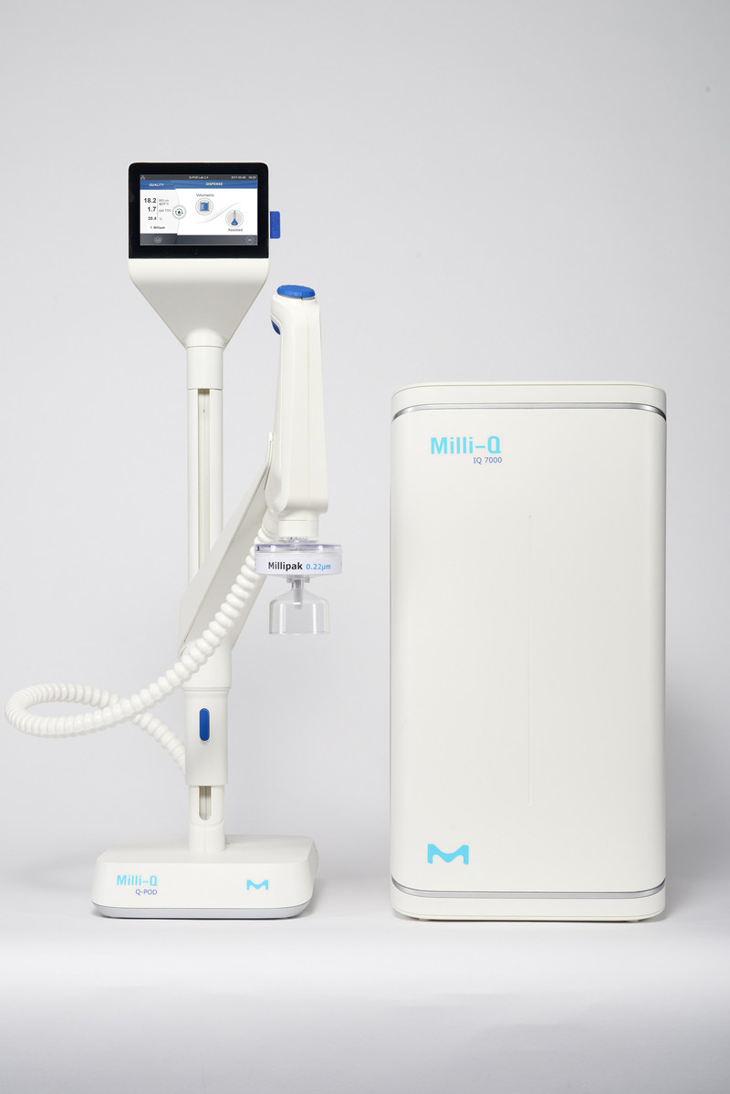 MilliporeSigma's customers are looking for compact, ergonomic systems and software so they can advance science, further faster. The Milli-Q(R) IQ 7000  lab water purification system allows scientists to focus on problem solving, without worrying about the purity of their water. MilliporeSigma's latest product reflects its legacy of pioneering innovations in lab water purification.