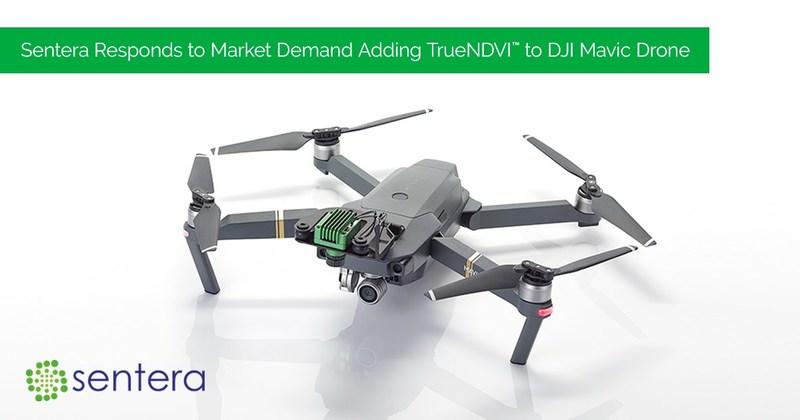 DJI Mavic Drone Transformed into Precision Scouting Tool with Sentera NDVI Single Sensor