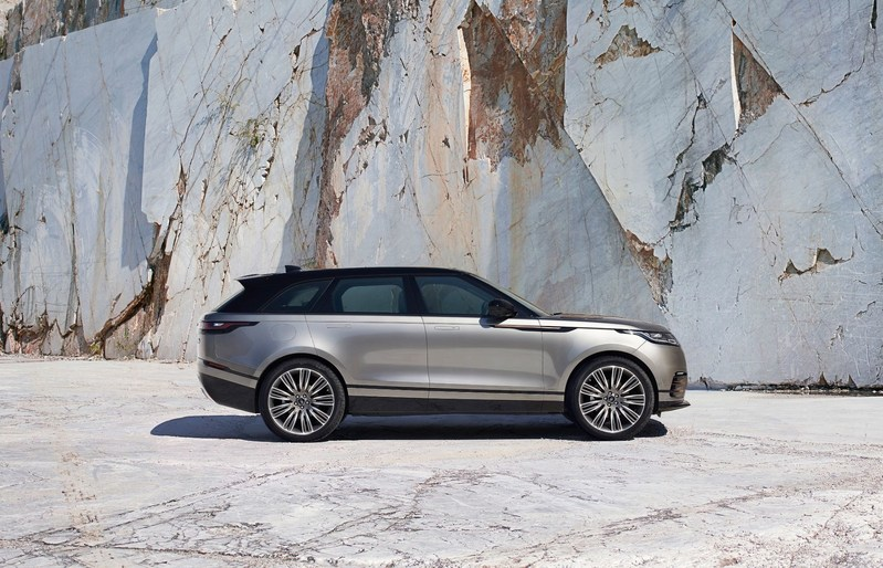 WORLD PREMIERE NEW RANGE ROVER VELAR REVEALED AT THE DESIGN MUSEUM Range Rover Velar www.media.landrover.com (PRNewsFoto/Jaguar Range Rover)