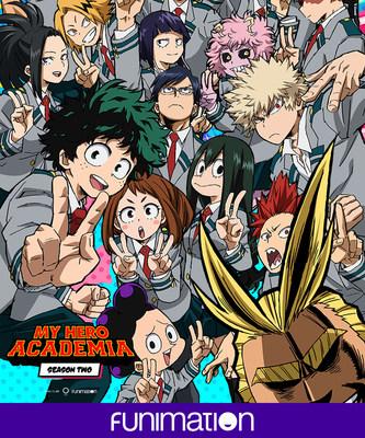 """My Hero Academia"" Season 2 key art. Courtesy Funimation Entertainment. (PRNewsFoto/Funimation)"