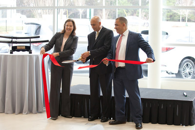 """Mayor Donna Pittman - City of Doraville, Craig Monaghan - President & CEO, Asbury Automotive Group, Ray Jimenez - Regional Vice President, INFINITI South."""