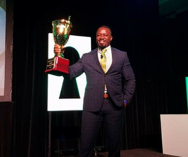 Marketing and sales company Tei Consulting Group earned a national sales trophy, the Campaign Cup, for their outstanding 2016 results. President Okletey Wilson-Tei received the award on behalf of the entire Tei Consulting Group staff.