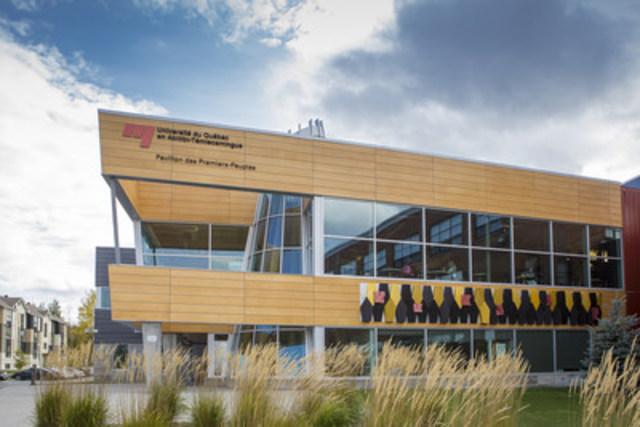 Le Forum sur les besoins de recherche des Premiers Peuples se déroulera les 7 et 8 mars prochains au Pavillon des Premiers-Peuples du campus de l'UQAT à Val-d'Or, Québec, Canada. (Groupe CNW/Université du Québec en Abitibi-Témiscamingue (UQAT))