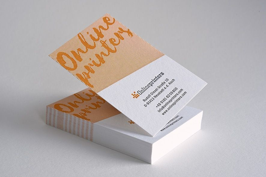 In 2016, Onlineprinters added 80 new items to its line of products and further expanded its service portfolio. Letterpress printed business cards are among the new products in the offering. This traditional intaglio method inspires numerous advertisers due to its exceptional look. Copyright: Onlineprinters GmbH (PRNewsFoto/Onlineprinters GmbH)
