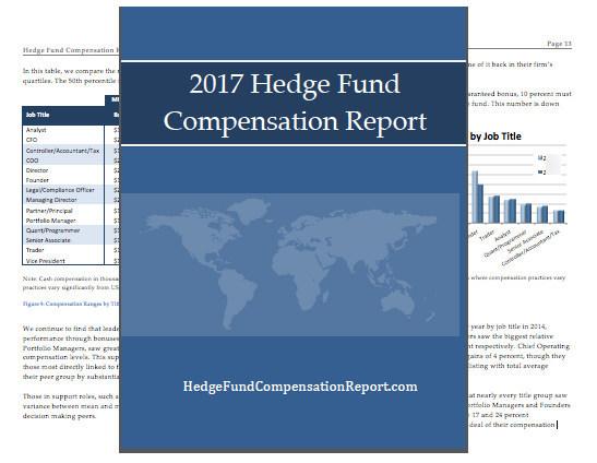 2017 Hedge Fund Compensation Report