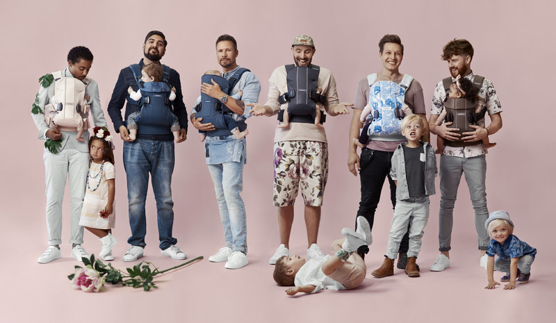 #dadstories Spring Collection 2017 by BabyBjörn: Real dads telling their real stories