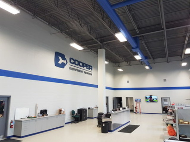 Cooper's Kitchener Branch (CNW Group/Cooper Equipment Rentals Limited)