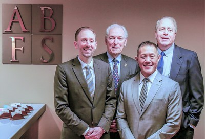 Pictured - Marcus Dusenbury, Bob Pennell, Adriel Tam, Bruce Yates