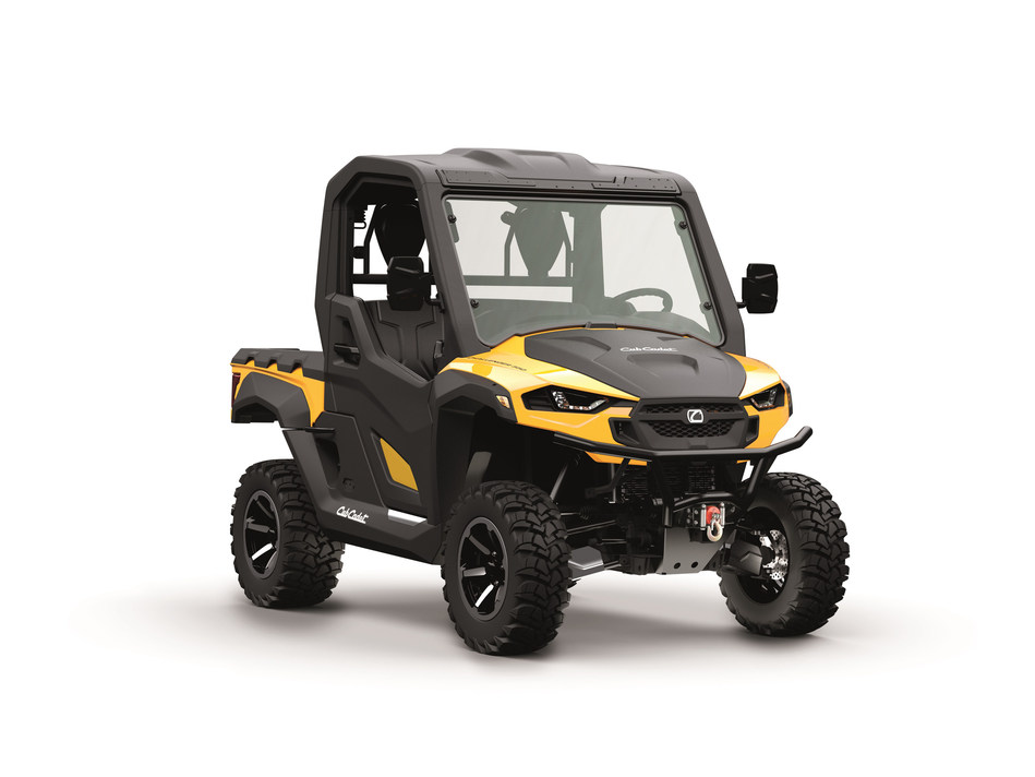 Cub Cadet has unveiled the new Challenger 550 and Challenger 750 utility vehicles.