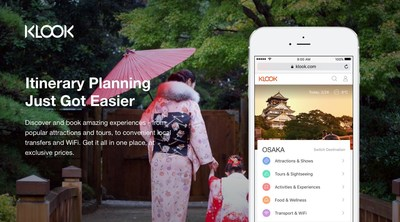 Klook's wide array of in-destination services across Asia and beyond