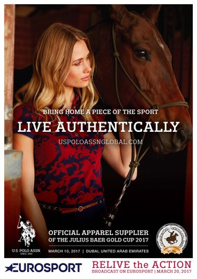 program promotion of Eurosport broadcast on March 20 for International Polo Event sponsored by U.S. Polo Assn.