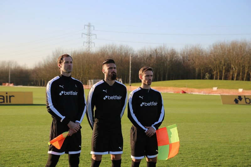 Betfair Launches 'Back The Whistleblowers' campaign alongside Arsenal FC and You Are The Ref (PRNewsFoto/Betfair)