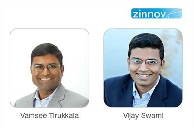 Co-founders Vijay Swami and Vamsee Tirukkala Rejoin Zinnov (PRNewsFoto/Zinnov Management Consulting)