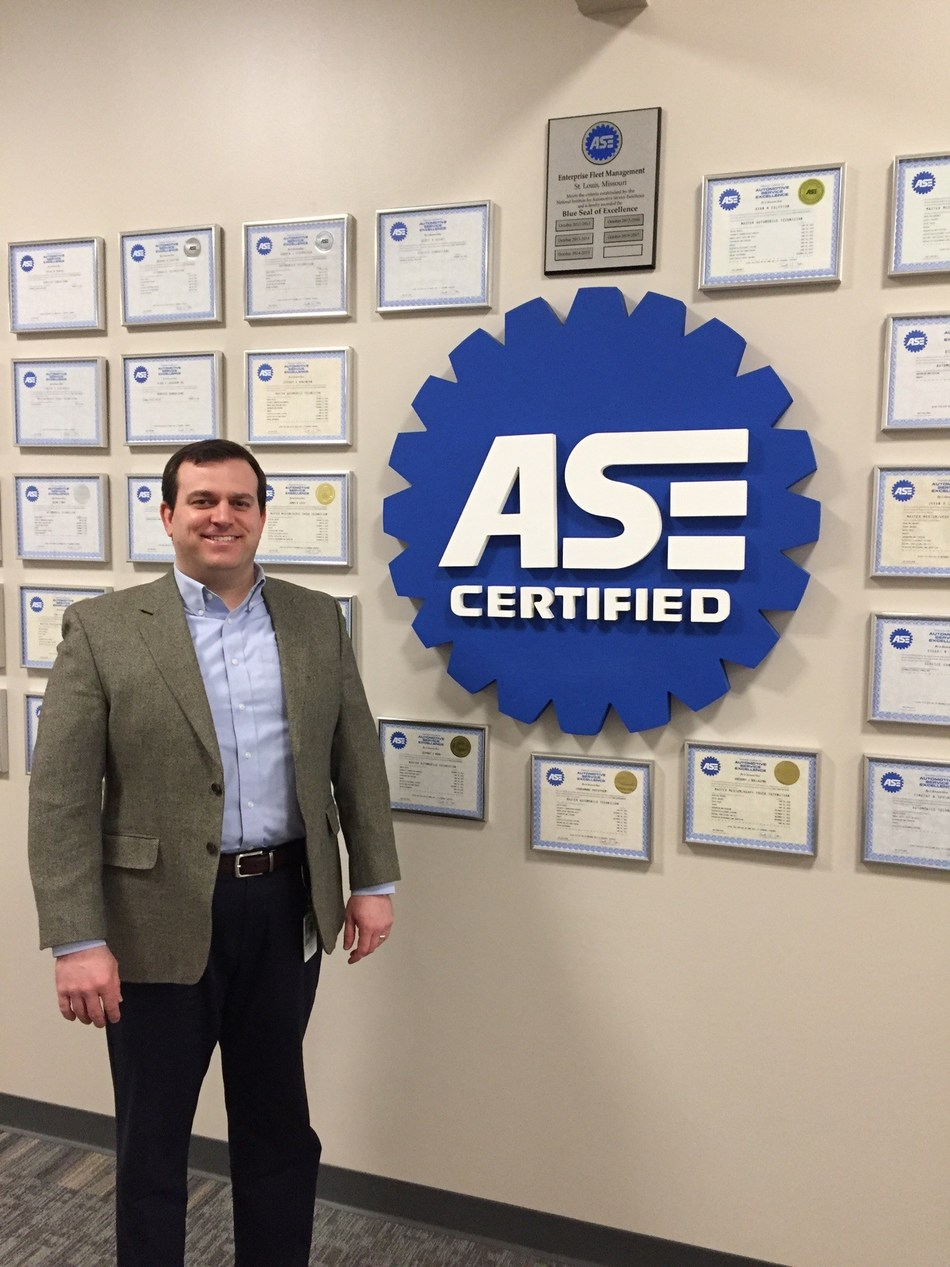Enterprise Fleet Management Customer Support Supervisor Kelley Hatlee is one of only 16 individuals to qualify for the 2017 ASE World Class Technician Award.