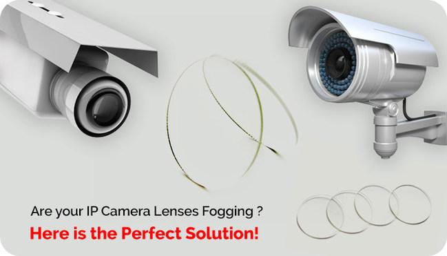 WeeTect anti fog anti scratch IP camera lens cover