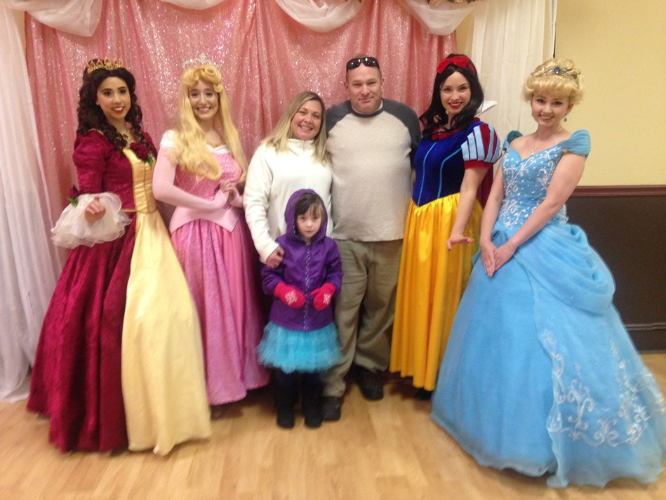 Children of Wounded Warrior Project(R) (WWP) veterans welcomed their favorite Disney(R) princesses during a meet-and-greet connection event. While the little ones mingled with the princesses, wounded warriors and family members bonded with fellow military families.