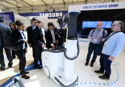 Samsung Showcases Latest Diagnostic Solutions for Radiologists at the 2017 European Congress of Radiology (PRNewsFoto/Samsung Electronics)