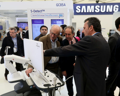 Samsung Showcases Latest Diagnostic Solutions for Radiologists at the 2017 European Congress of Radiology