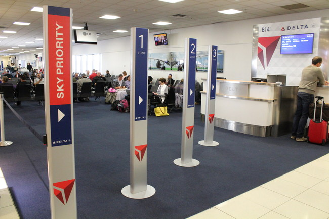 Delta introduces enhanced boarding process in Atlanta