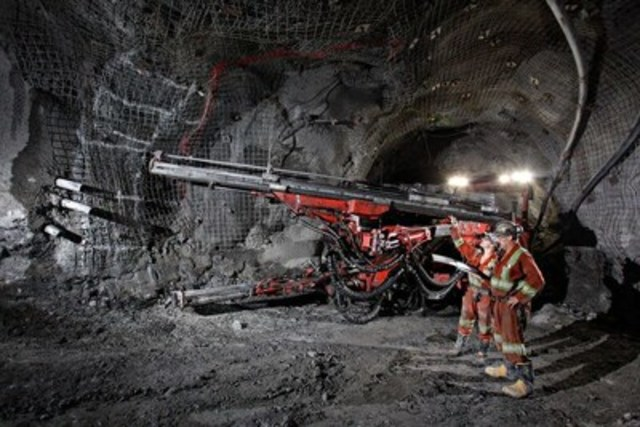 Goldcorp will start using IBM Watson for exploration targeting efforts at their Red Lake, Ontario mine. (CNW Group/IBM Canada Ltd.)