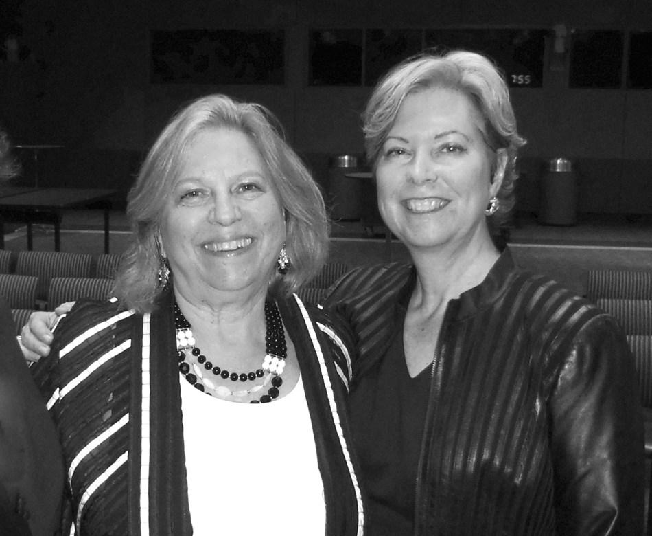 Katrin Dambrot, FWA President and Ria Davis, FWA Executive Director