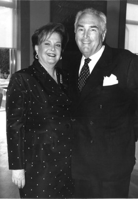 Audrey and the late Sydney Irmas