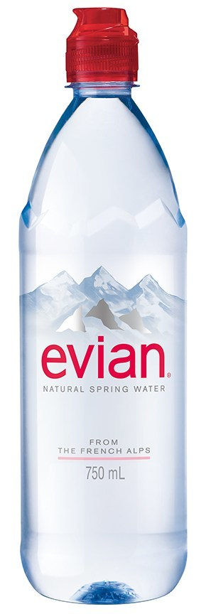 Evian 174 Launches 750 Ml Sport Cap With New Ambassador
